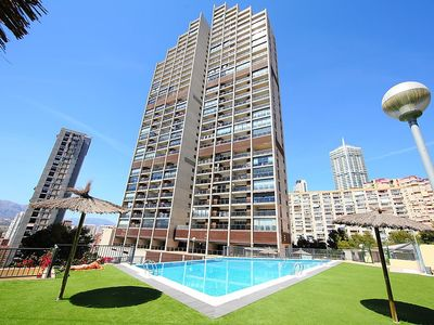 Photo for 1BR Apartment Vacation Rental in Benidorm, Comunidad Valenciana