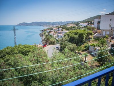 Photo for Penthouse with sea views in Llançà!