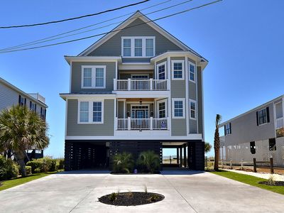 Photo for Carolina Palms, Oceanfront, 6 Bedroom, 6.5 Bath, Sleeps 22, Private Pool!!!