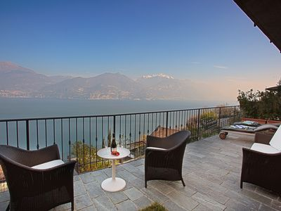 Photo for Casa Paradiso In Menaggio, Luxury home, 180 Degree Lake Views, Private Garden