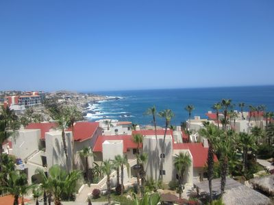 Photo for Beautiful Large 2 bedroom Over Looking the Sea Cortez and the Pool