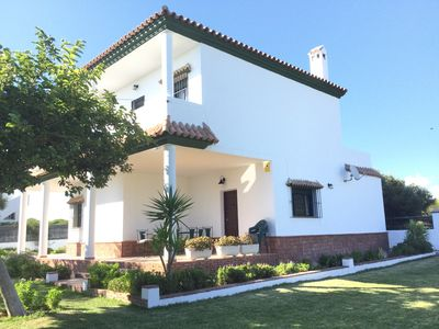 Photo for Beautiful and spacious beach and field villa in Los Caños de Meca