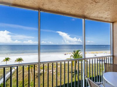 Photo for Breathtaking Views of the Beach, Bay, and Gulf of Mexico! Beachfront Heated Pool!