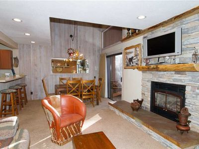 Photo for Mammoth Ski and Racquet Club #86, 1 Bedroom + Loft, 2 Full Bathrooms Fully Furnished Condo