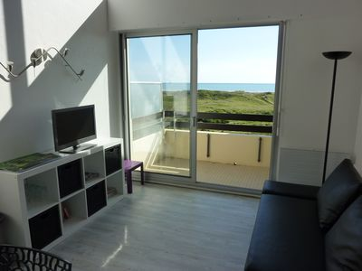 Photo for T3 DUPLEX FACING THE SEA AND DUNES - Sleeps 6 - Garage - 2nd and last floor