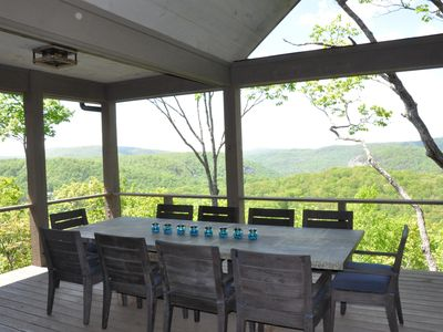 Photo for Luxury Custom Built 2017 Mountain Home with Long Range Views 4290' elevation