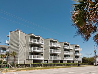 Photo for Nightly rentals at an oceanside condo just steps from Johnnie Mercer's Pier