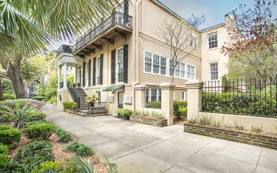 Photo for Stay with Lucky Savannah: Garden home on Jones Street across from Clary's!
