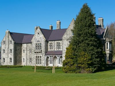 Photo for Plas Y Coed a luxury flat  in a Grade II listed manor house by  Penrhyn Castle