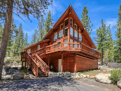 Photo for Newly renovated, allergen-free cabin w/mountain views