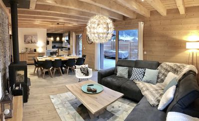 Photo for New chalet 10 people 4 * Morzine