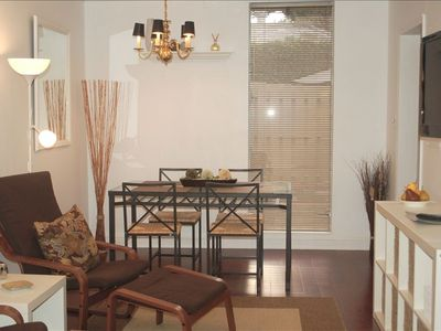 Historic District Cottage Suite with a Fresh, Youthful Decor.