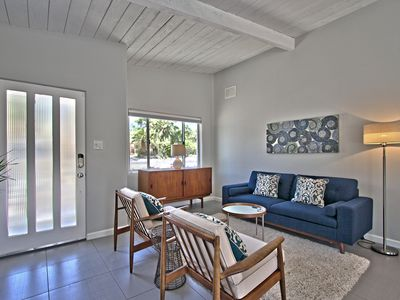 Photo for Prime Location! MidCentury+Large Backyard+Walk to Restaurants & Shops - The Palm
