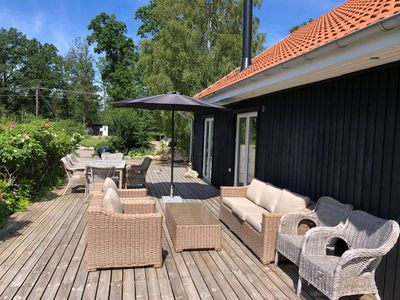 Photo for Lovely Swedish wooden house in southern Sweden