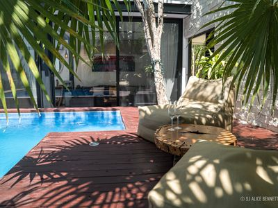 New Villa 3 Bedrooms In Tulum With Private Garden And Swimming Pool