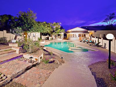 Photo for Relaxing Heated Pool, Private Theater Room, Game Room, and Outdoor Sports Court