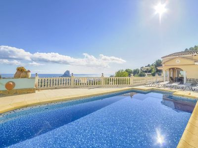 Photo for Calpe Villa, Sleeps 6 with Pool and WiFi