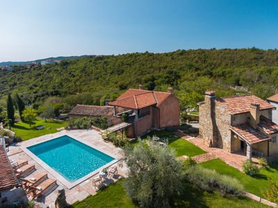Photo for Stone Villa Malini, in Istria, with a Pool