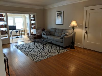Photo for Charming, big, and cozy in the heart of Omaha - like an apartment in Mad Men!