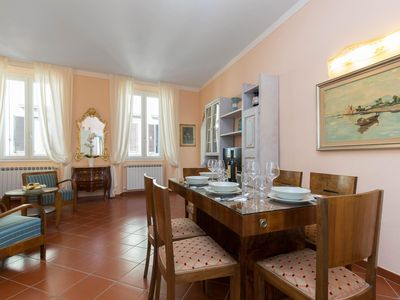 Photo for Bright and spacious apartment located in the historic center of the city of Florence