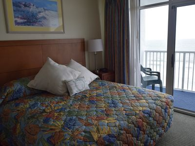 Photo for SeaWatch Upgraded Deluxe w/ Oceanfront BR – New W/D - Weekly Specials May, June