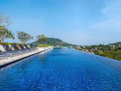 Photo for Top-Pool view in Phuket Town Condo
