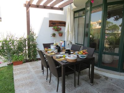 Photo for House Braites T3, Garden, Air Conditioning, Swimming Pool 5 m from the Beach
