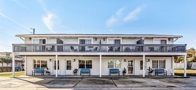 Photo for Updated 2 bed/1.5 bath townhouse... Across the street from beach!