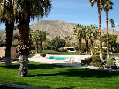 Photo for Pool and Ramada at This Unique, Garden Oasis in Palm Desert Sandpiper