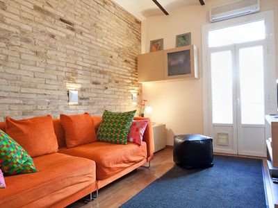 Photo for Apartment 394 m from the center of Barcelona with Internet, Air conditioning, Lift, Terrace (443084)