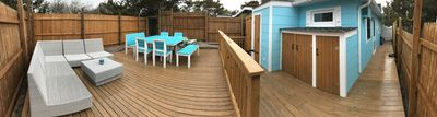 large backyard.  New photos will be up soon
