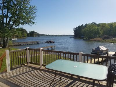 Photo for Waterfront Lake Murray Cottage with Private Pier & Launch