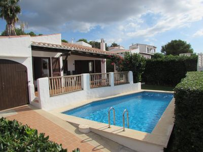 Photo for Beautiful Villa near the beach, private pool, sea views. Free WIFI