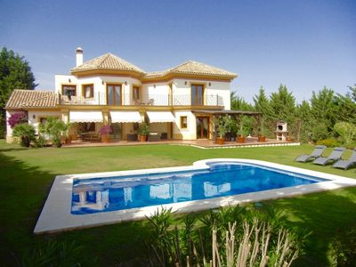 Photo for LUXURY HOLIDAY VILLA IN MARBELLA ,ON PRESTIGIOUS GOLF COURSE AND SEA VIEWS""