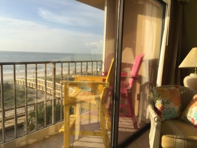 Photo for CABANA COMPLEX UNIT 302 -Oceanfront Condo with Pool, Beach Access,Free WiFi, Close to Shopping, Dining and Boardwalk
