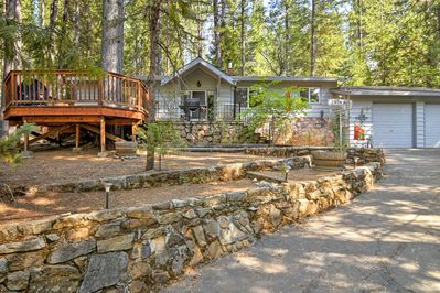 Located in Arnold, this spacious home is minutes from skiing, hiking, and more.