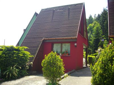 Photo for Quiet cottage, flowery, parking, private terrace, near Colmar