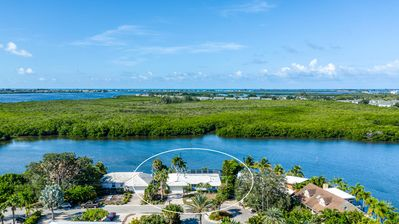 Photo for NEW! Water Front Private Pool/Spa Home with Boat Docking Available!