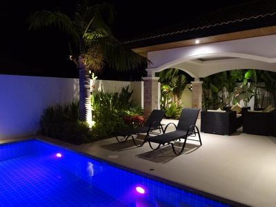 Photo for Hua Hin new villa with pool 2 bedrooms 2 bathrooms