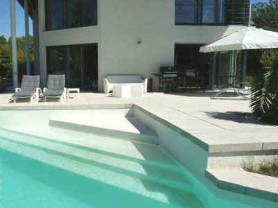 Photo for Contemporary house in the heart of lush greenery at the door of Montpellier