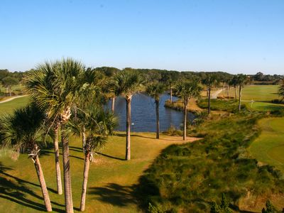 2914 Atrium is perfect - Gorgeous views, walk to beach, dining, pools, golf!