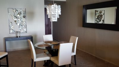 Photo for Beautifully decorated 1 bedroom with stunning straight on ocean views