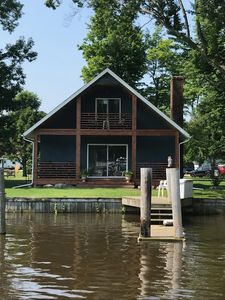 Photo for Newly Renovated Riverfront Cottage with Boat Slip and Kayaks included