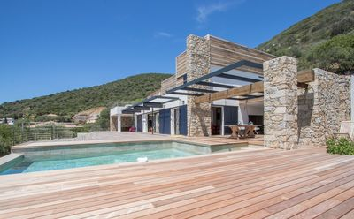 Photo for Luxury Sea View Architect's Villa with Pool and Jacuzzi