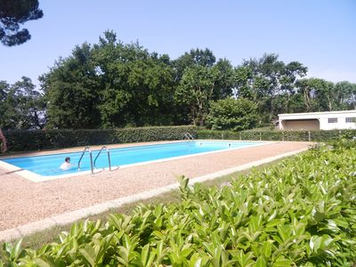 Photo for Studio oyster harbor Andernos with swimming pool - 2 pers