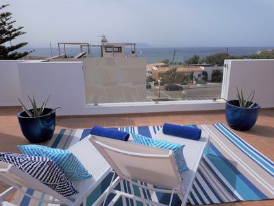 Photo for SEA PENTHOUSE IN A QUIET, SLOWLY & QUALITY VILLAGE