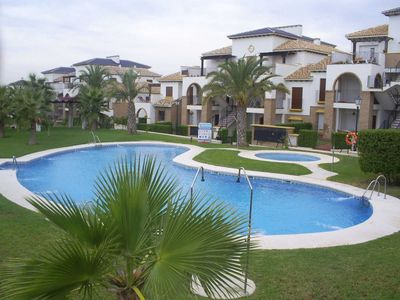 Photo for Family friendly Al Andalus Hill apartment at Playa Vera.
