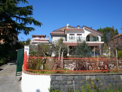 Photo for Stunning private villa for 7 people with WIFI, TV, balcony, pets allowed and parking