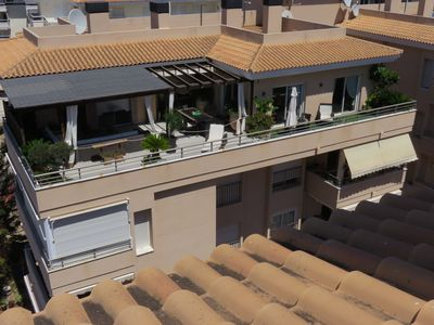 Photo for EXTRAORDINARY PENTHOUSE 150m2 + TERRACE 100m2 -Situated near all- wifi = L'IDEAL