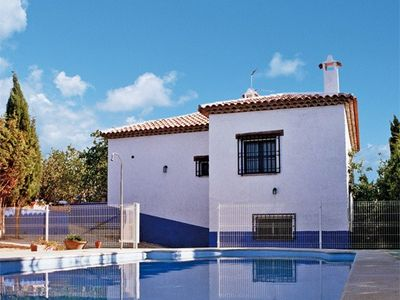 Photo for El Huerto Dulcinea, 12 bedrooms with bathroom, huge living room, groups, pool